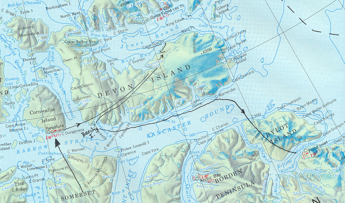 Truelove Lowlands, Devon Island, Nunavut - www.bigbluesky.ca